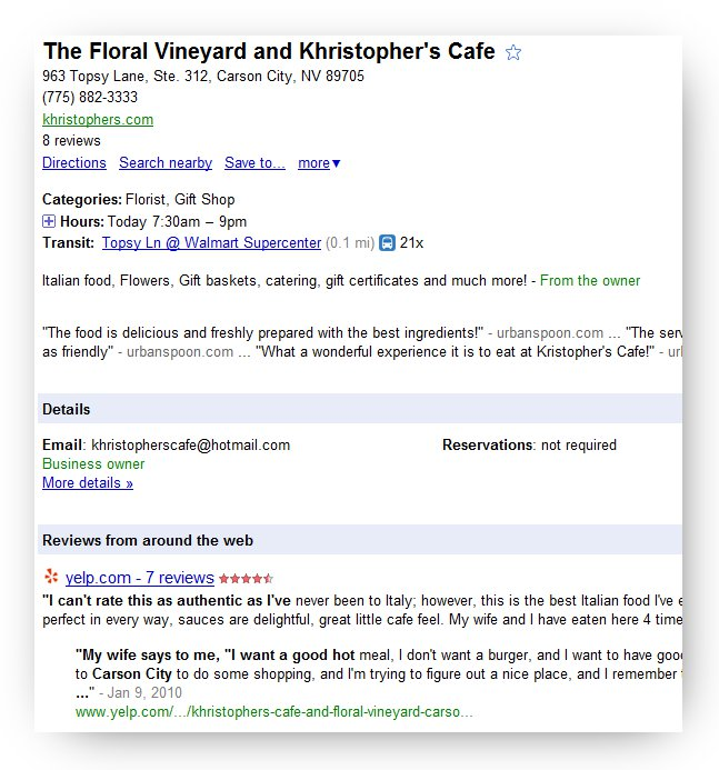Google-Places-Floral-Vineyard